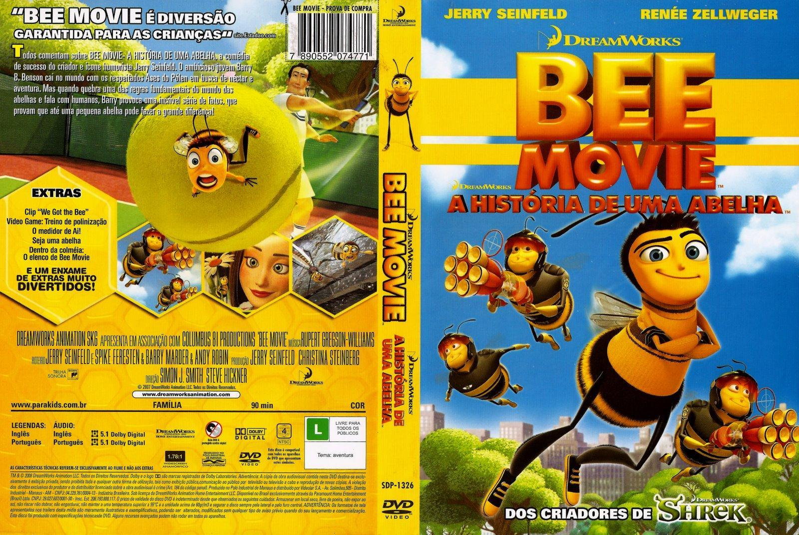 bee movie a historia de uma abelha dublado avi