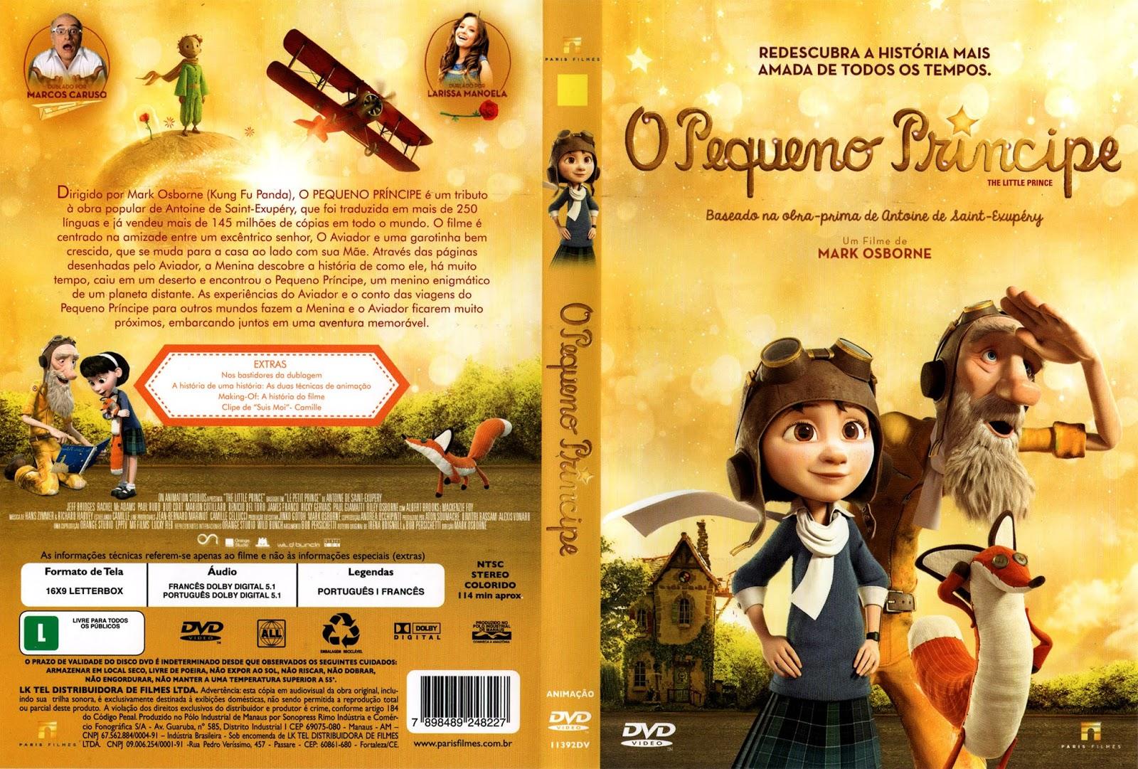 Filme O Pequeno Principe 2015 for o pequeno principe (2015) capa dvd   gigain filmes